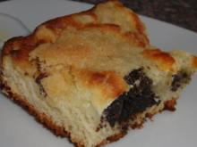 Mohn-Hefe-Quarkkuchen (Kleckselkuchen) - Rezept