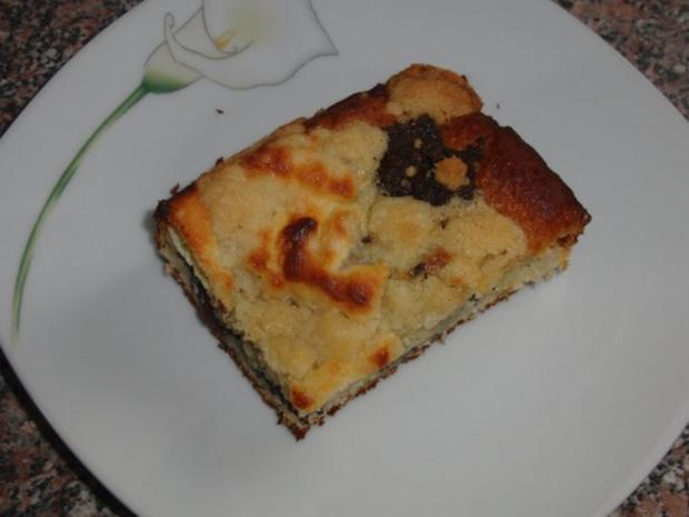 Mohn-Hefe-Quarkkuchen (Kleckselkuchen) - Rezept - Bild Nr. 4