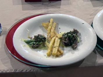 Roulade von der Kalbsniere mit Bratkartoffeln (Moritz A. Sachs) - Rezept
