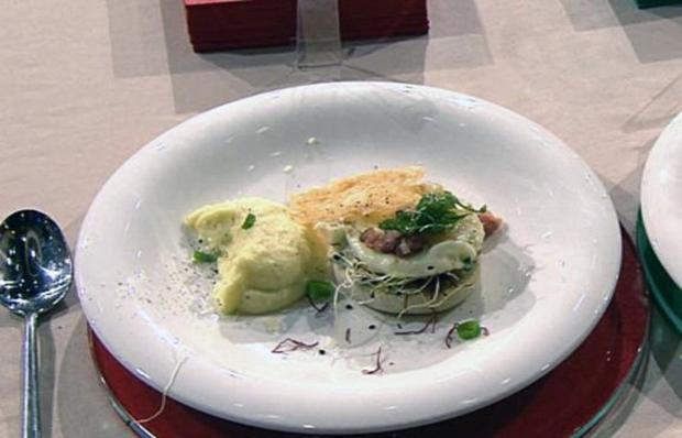 Country-Sandwich mit getrüffeltem Kartoffelpüree à la Henssler - Rezept