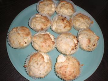 Hirtenkäse bzw Schafskäse Muffins - Rezept
