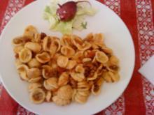Zwergi's Hackfleisch - Nudeln - Rezept