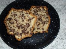 Kuchen  - Haselnuss-Schokostreusel-Sahne-Springform-Kuchen - Rezept