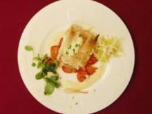 Zander im Baguette-Mantel auf Salat (Michael Schanze) - Rezept