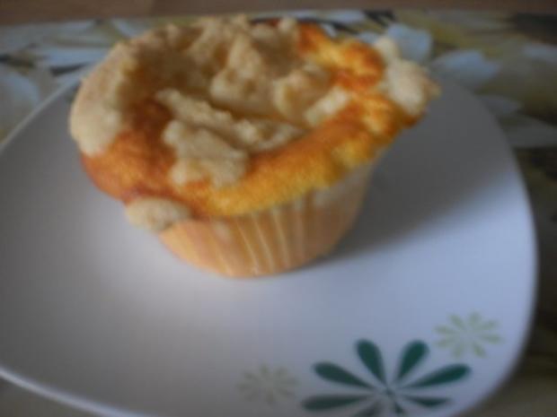 Quark-Muffins mit Butterstreuseln - Rezept