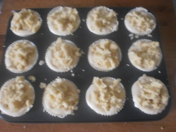 Quark-Muffins mit Butterstreuseln - Rezept - Bild Nr. 7