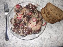 Speckwurst-Salat mit Radieschen Dieter´s Art - Rezept