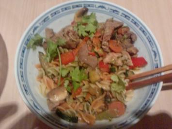 Zum 180. Die italienisch -thailändische Versuchung mit 3 Kostbarkeiten an grünem Curry - Rezept