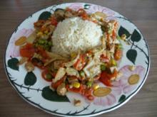Fleischlos : Tofu mit Gemüse aus dem Wok - Rezept