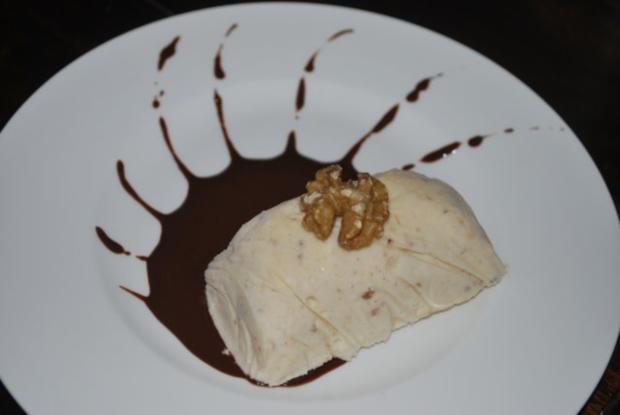 Walnuss-Cookie-Eis - Rezept