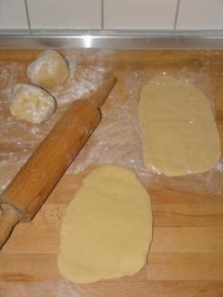 Flódni * Apfel-Mohn-Walnuss-Kuchen - Rezept