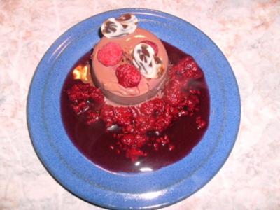 Schoko - Chili - Panna - Cotta - Rezept