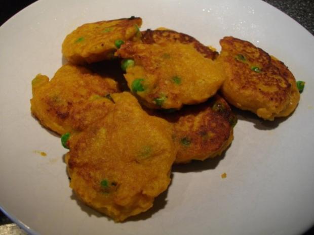 Süßkartoffel-Bratlinge - Rezept