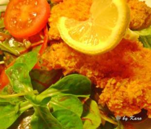 Geflügel: Zartes Hähnchenfilet in einer Kartoffelchips Panade - Rezept