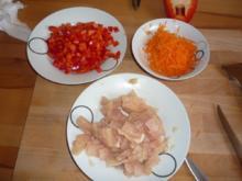Schnelle Hähnchenpizza - Rezept
