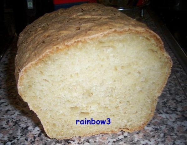 Backen: Kasten-Weißbrot - Rezept