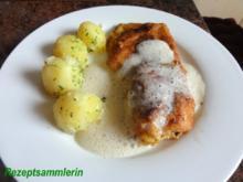 Fisch:   ROTBARSCHFILET gebacken - Rezept