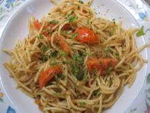 Pasta: Spaghetti con Sardelle - Rezept