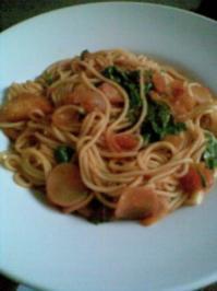 Das 1367 Pasta-Rezept oder Frühlings-Pasta - Rezept