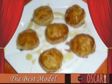 Fetakäse knusprig gebacken mit Blätterteig - Rezept