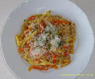Reis-Gemüse-Gericht - Rezept