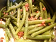 Grüne Bohnen mit Speck - Rezept