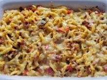 Italienische Käse-Spätzle - Rezept