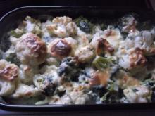 Blumenkohl-Broccoli-Gratin - Rezept