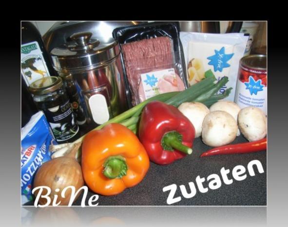 BiNe` S PIZZA - Rezept - Bild Nr. 2