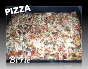 Rezept: BiNe` S PIZZA