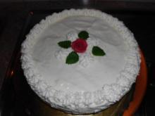 Zitronen-Buttermilch-Torte - Rezept