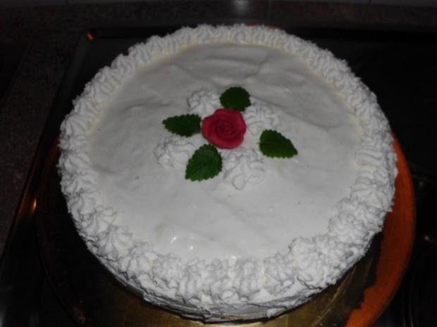 Zitronen Buttermilch Torte Rezept Mit Bild Kochbar De