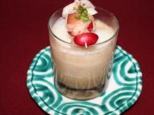 Cappuccino von der Marone mit Filet vom Lech-Saibling - Rezept