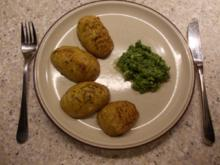 Gebackene Kartoffeln mit Rucolapesto - Rezept