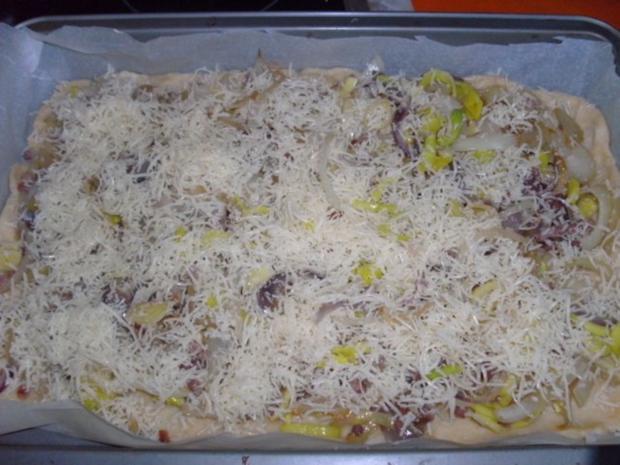 Quiche mit Porree, Käse - Rezept - Bild Nr. 10