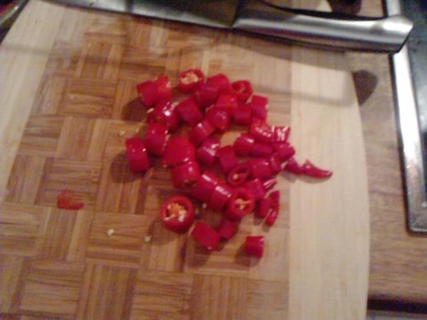 Pfanne in  Red oder Die rot-scharfe-chinesische -Versuchung - Rezept - Bild Nr. 5