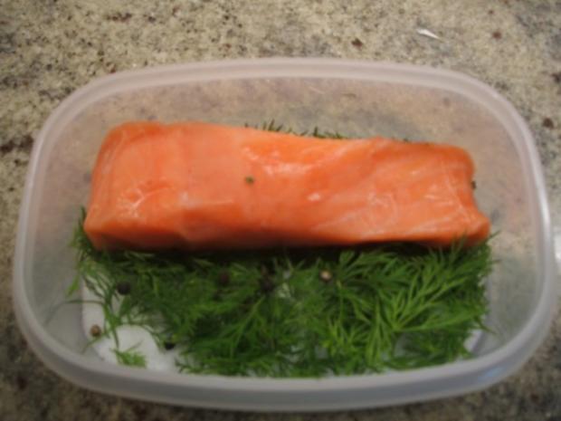Fisch: Graved Lachs - Rezept - Bild Nr. 4