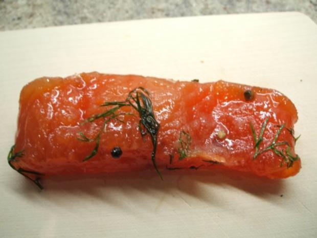 Fisch: Graved Lachs - Rezept - Bild Nr. 10