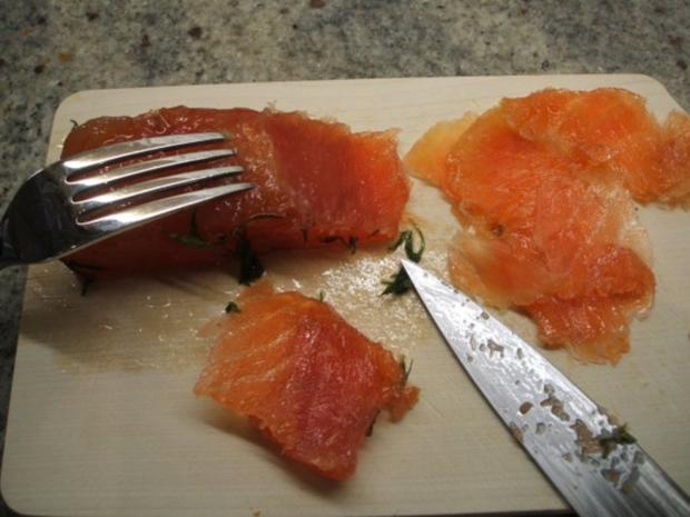Fisch: Graved Lachs - Rezept - Bild Nr. 11