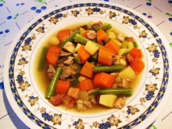 Gemüse-Allerlei aus dem Suppentopf - Rezept