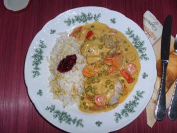 Ananas-Curry-Pfanne - Rezept
