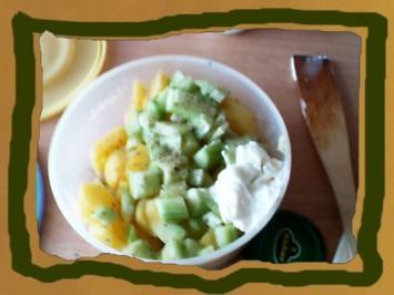 Kartoffel-Gurkensalat mit Dill - Rezept