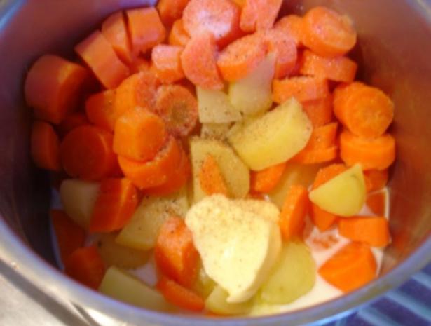 Kartoffel-Möhren-Stampf - Rezept - Bild Nr. 5