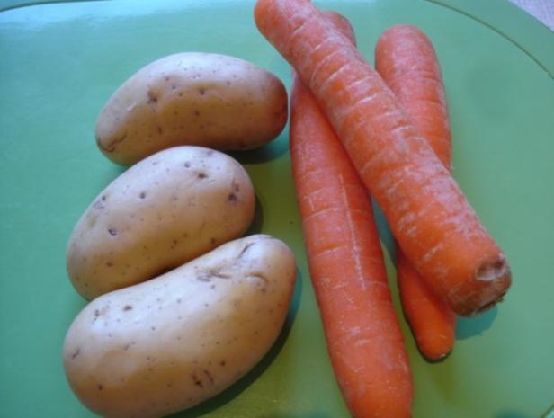 Kartoffel-Möhren-Stampf - Rezept - Bild Nr. 2