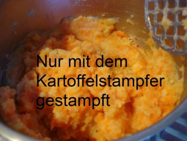 Kartoffel-Möhren-Stampf - Rezept - Bild Nr. 7