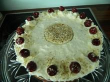 Mandel-Kirsch-Torte - Rezept