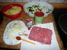Zucchini- Moussaka - Rezept