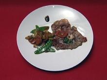 Saltimbocca mit Soße und Gemüse (Ramona Leiß) - Rezept