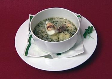 Saure Roggenmehlsuppe (Kim Gloss) - Rezept