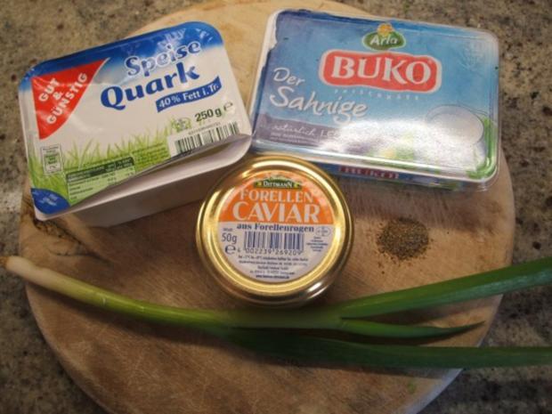 Pikantes Backen: Miniwindbeutel mit Kaviar-Füllung - Rezept - Bild Nr. 10